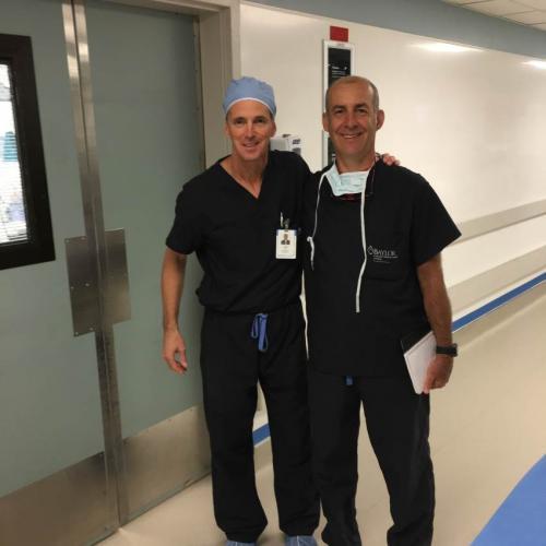 Io ed il Dott. Hal D. Martin