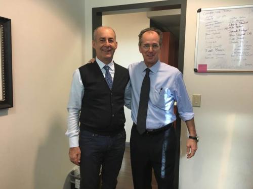 Io ed il Dr. Hal D. Martin