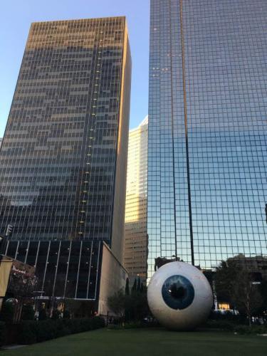 Un occhio sulla città di Dallas :-)
